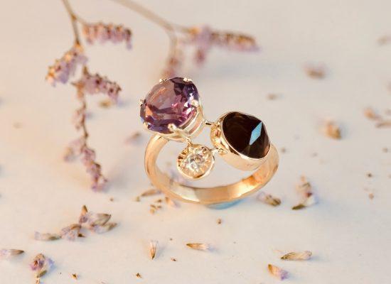 gouden ring handgemaakt diamant