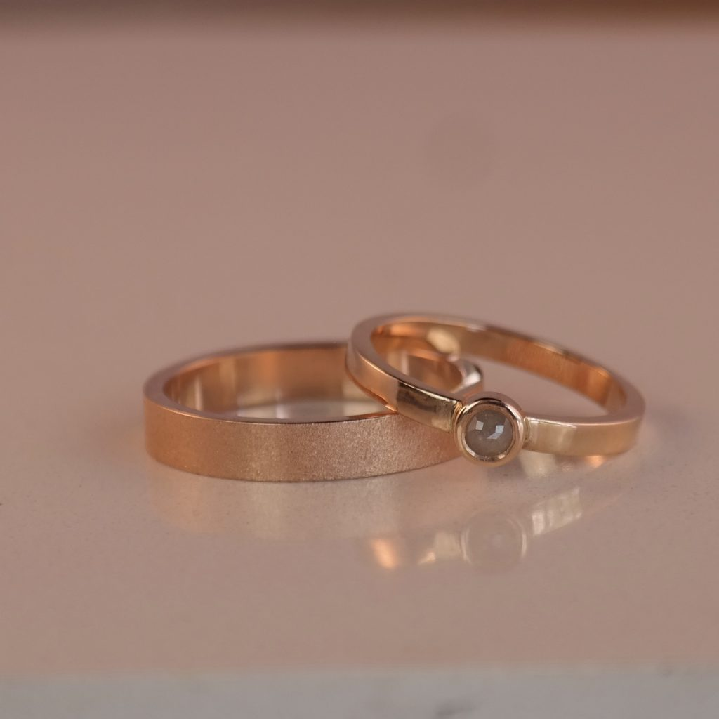 unieke handgesmede trouwringen