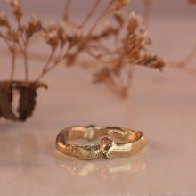 organische gouden ring